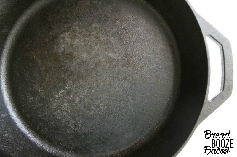 How To Clean Cast Iron Skillets | Bread Booze Bacon
