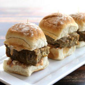 Meatloaf Sliders | Bread Booze Bacon