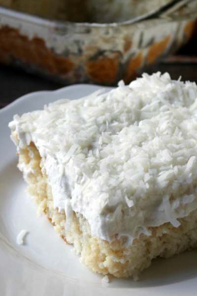 Mom's Best Ever Coconut Cake