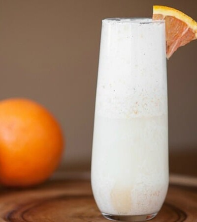 Orange Mimosa Float | Self Proclaimed Foodie for Bread Booze Bacon