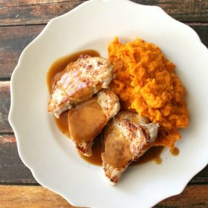 Pork Medallions with Ginger Ale Sauce | Bread Booze Bacon