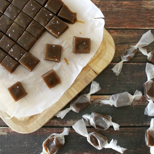 Salted Butter Rum Caramels | Bread Booze Bacon