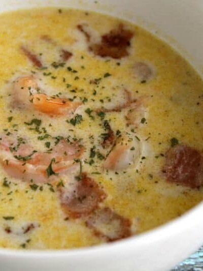 Shrimp + Bacon Bisque | Bread Booze Bacon