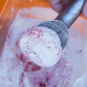 Strawberry Swirl Ice Cream | Bread Booze Bacon