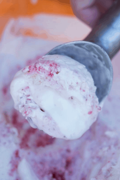 Strawberry Swirl Ice Cream