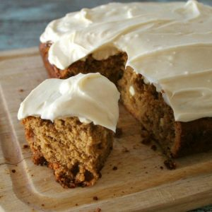 White Chocolate Chip Gingerbread with Cream Cheese Frosting | Bread Booze Bacon