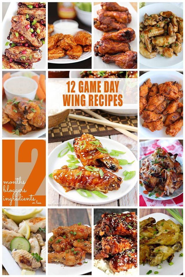 12 Wing Recipes Worth Drooling Over #12Bloggers