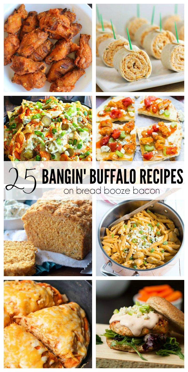I'm usually a wimp when it comes to spicy food, but throw something buffalo flavored on my plate and I'll fight you off with a fork! Get ready for a kick in your mouth from these 25 Bangin' Buffalo Recipes. They'll make your tummy happy. Promise.