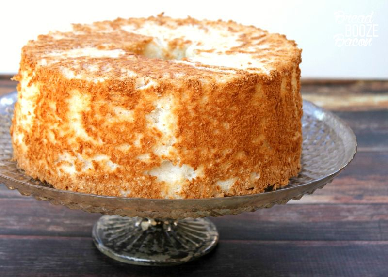 Homemade Angel Food Cake is easier than you think! This recipe comes out fluffy and perfect every time.
