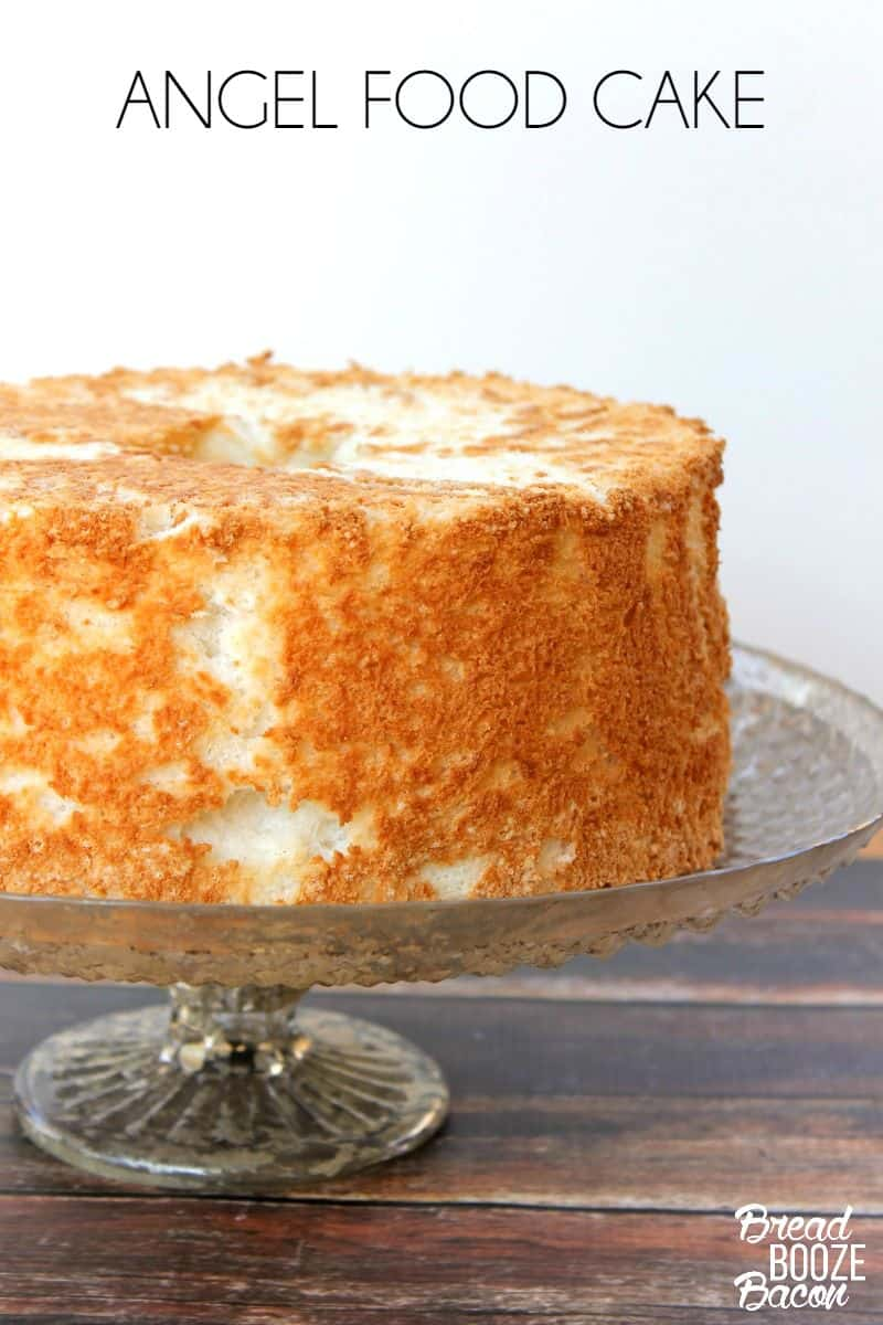 Angel food cake bread booze bacon homemade angel food cake is easier than you think this recipe comes out fluffy and forumfinder Image collections