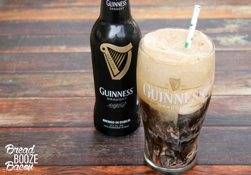 Have your shot and dessert in one with our delicious Car Bomb Float!