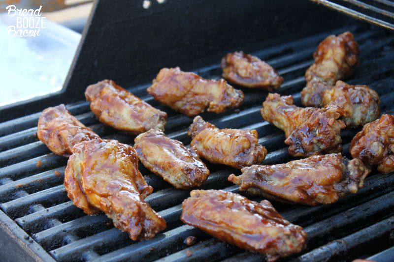 Grilled BBQ Wings | Bread Booze Bacon