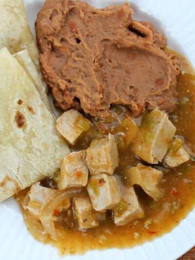 Slow Cooker Green Chile Pork