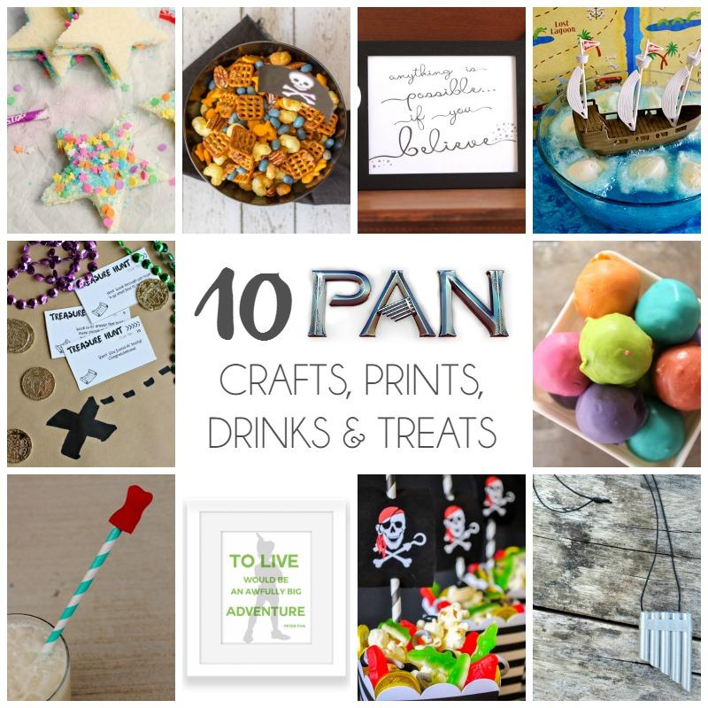 10 Pan Crafts, Prints, Treats & Drinks | Bread Booze Bacon