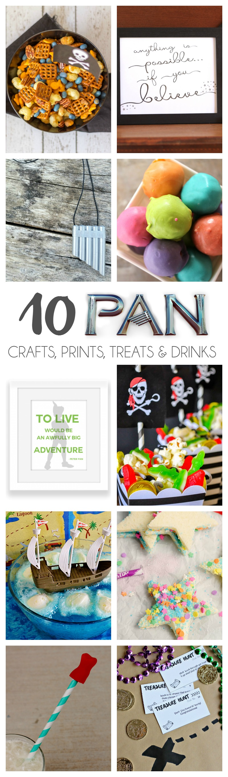 10 Pan Crafts, Prints, Treats & Drinks | Bread Booze Bacon