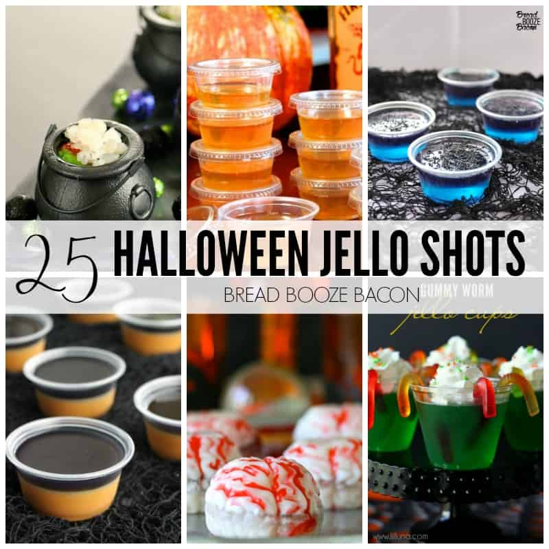 25 Halloween Jello Shots Recipes