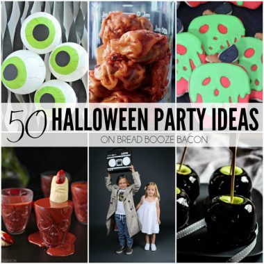 Throw the best party ever with our 50 Halloween Party Ideas! Halloween is my favorite time of year and have we got some serious party inspiration for you!