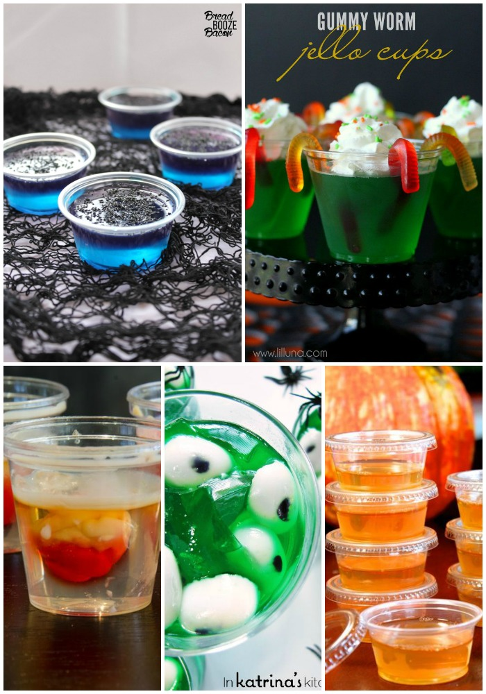 25 Halloween Jello Shots | Bread Booze Bacon