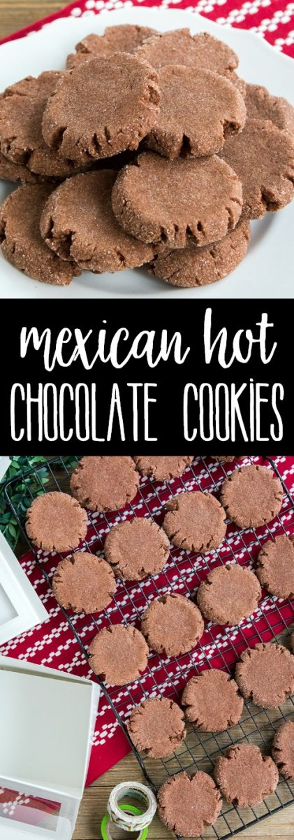 Mexican Hot Chocolate Cookies are full of deep, spicy chocolate flavors that beg to be eaten! Be sure to make a double batch, these cookies disappear quickly!