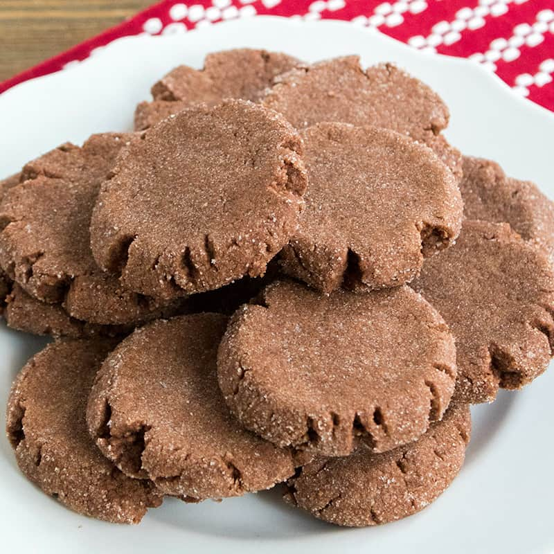 Mexican Hot Chocolate Cookiesare full of deep, spicy chocolate flavors that beg to be eaten! Be sure to make a double batch, these cookies disappear quickly!