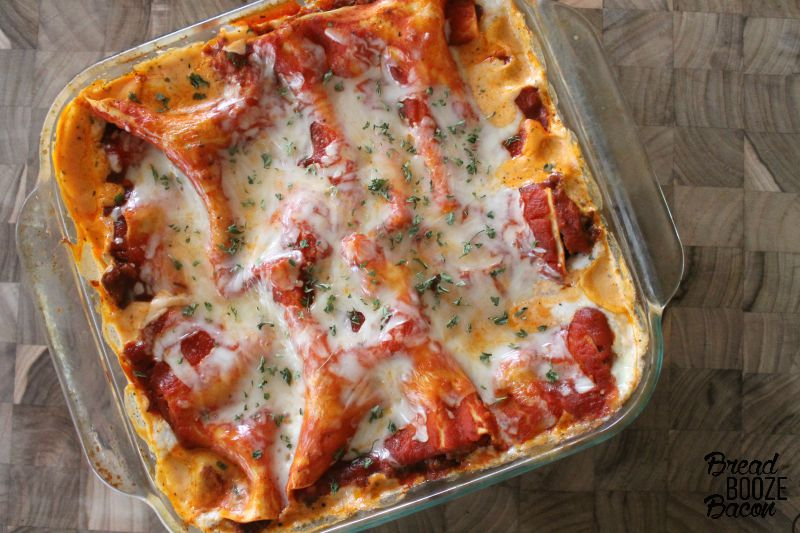 Mom's Lasagna is one of my go to, all-time favorite comfort foods!