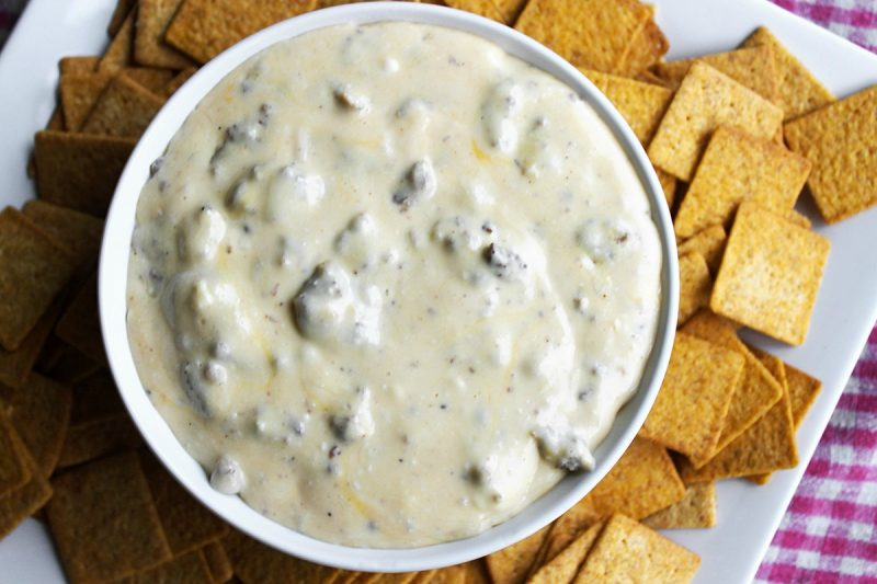 Slow Cooker Hissy Fit Dip turns one of our all-time favorite appetizers into an easy to make crock pot dip recipe everyone devours!