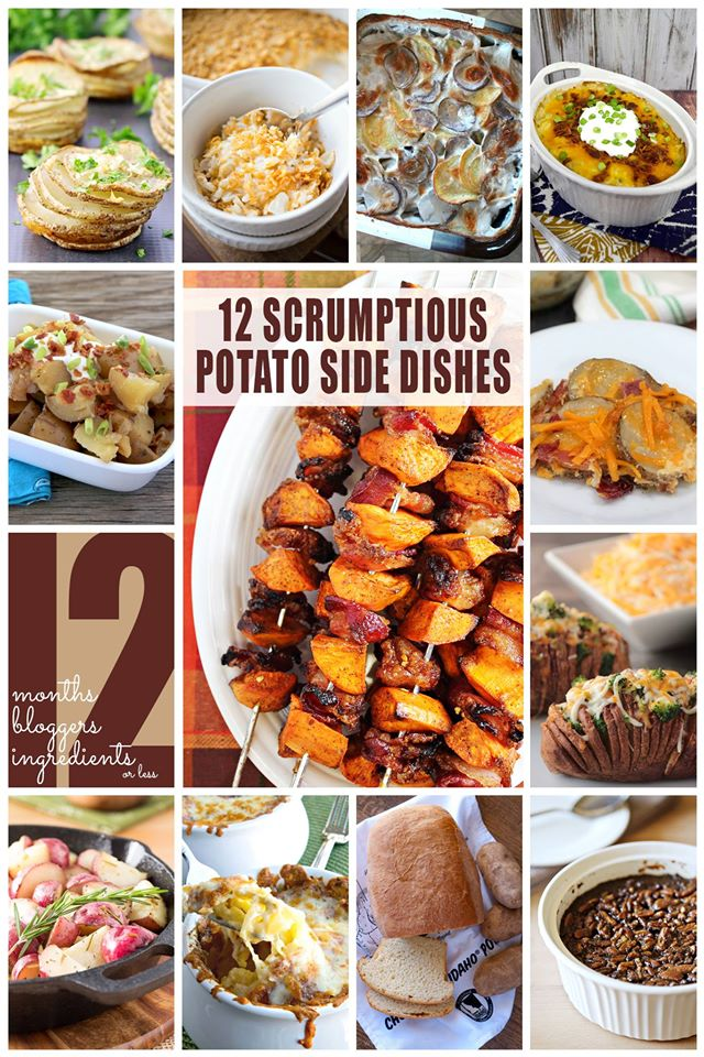 12 Scrumptious Potato Side Dish Recipes | Bread Booze Bacon