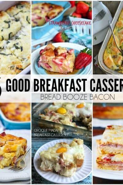 25 Good Breakfast Casseroles