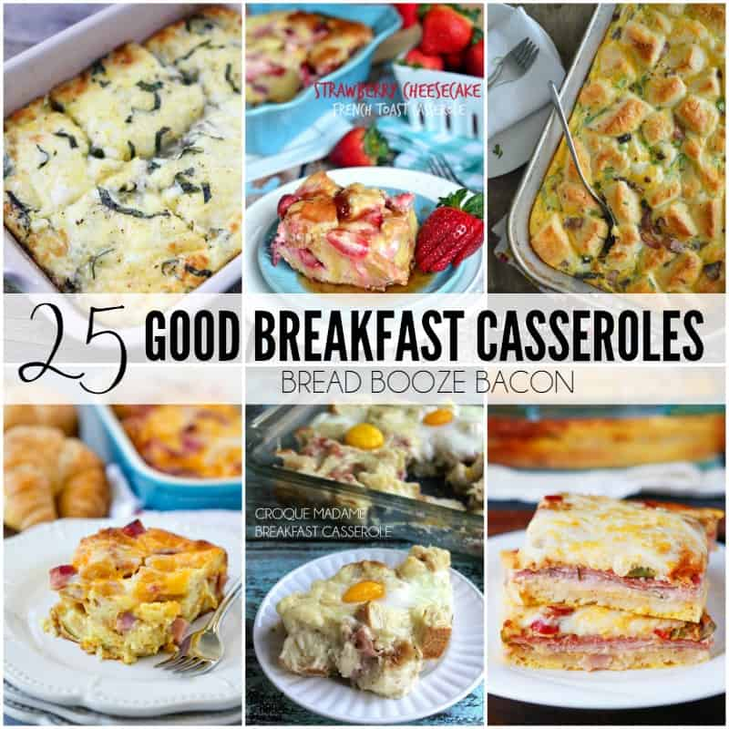 25 Good Breakfast Casseroles