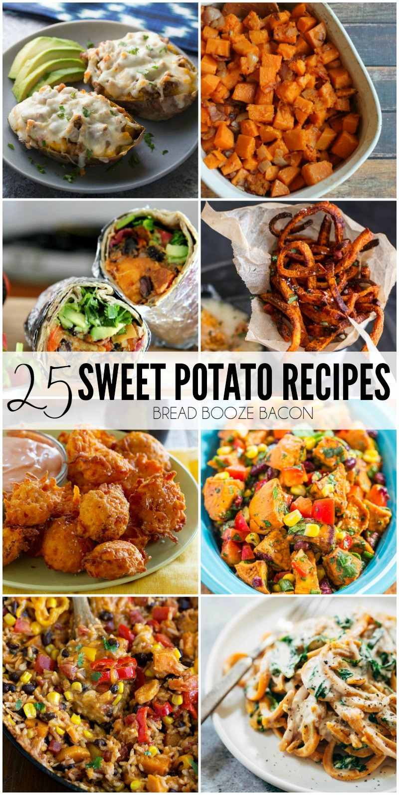 I'm kind of obsessed with sweet potatoes. They're just so damn good! I want to make them every way imaginable, and with these 25 Sweet Potato Recipes now I can! Get ready to step up your sweet potato game kids.