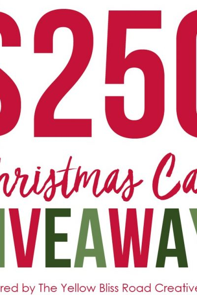 Yellow Bliss Road Team $250 Christmas Cash Giveaway!  [CLOSED]