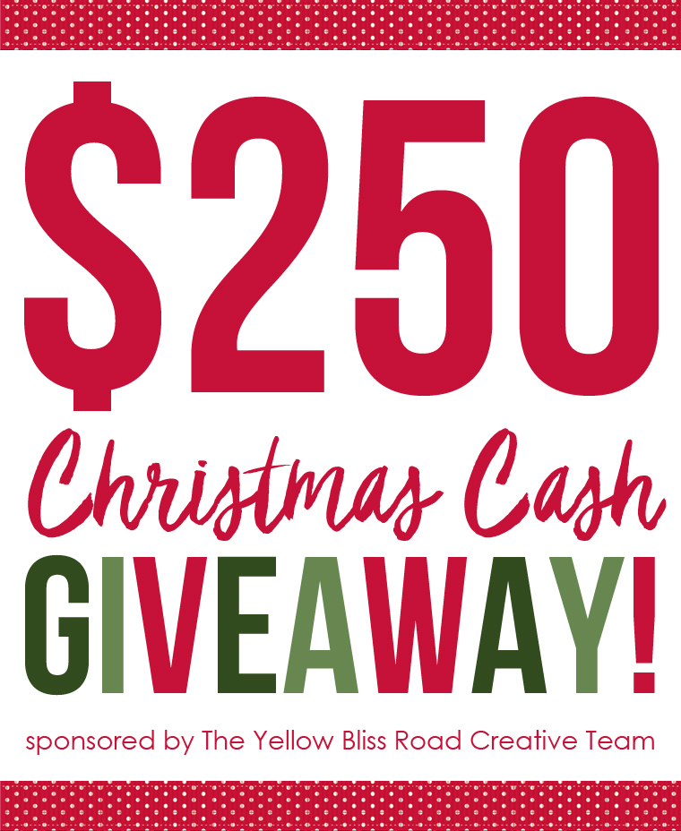 Yellow Bliss Road Team $250 Christmas Cash Giveaway!
