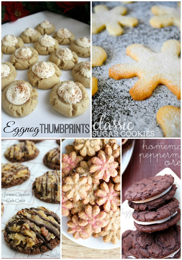 Are you a holiday baking addict too?! Let's get cooking with these 30+ CHRISTMAS COOKIE RECIPES!