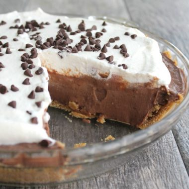 Classic Chocolate Cream Pie is a creamy, dreamy slice of happiness no one can resist!