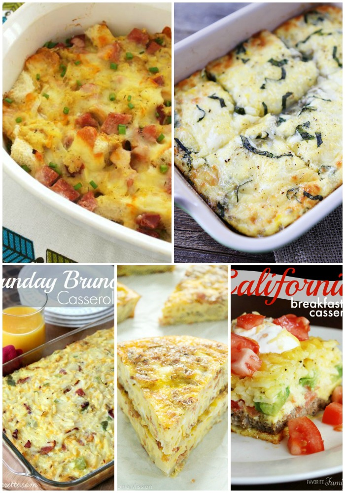 These 25 Good Breakfast Casseroles make serving a crowd easy so you can spend more time visiting and less time slaving over a stove!