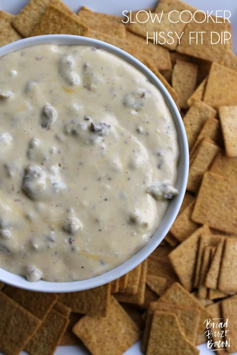 Slow Cooker Hissy Fit Dip turns one of our all time favorite dips into an easy to make appetizer everyone devours!