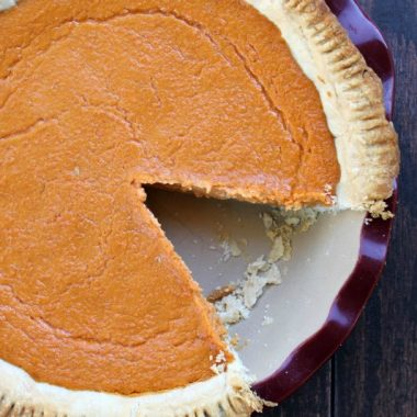 Sweet Potato Pie is a Southern classic that'll gladly give your pumpkin pie a run for its money!