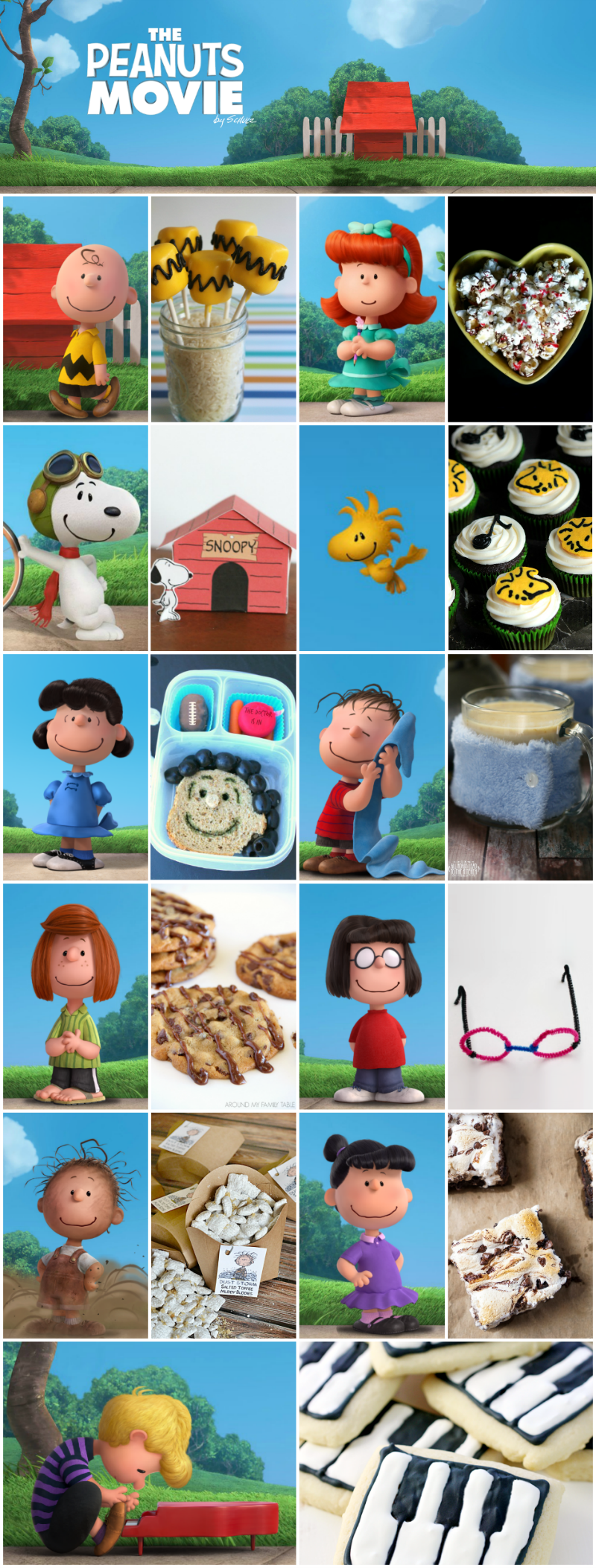 11 Eats, Treats, Drinks & Crafts Inspired by The Peanuts Movie
