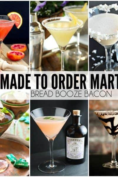 25 Made to Order Martinis