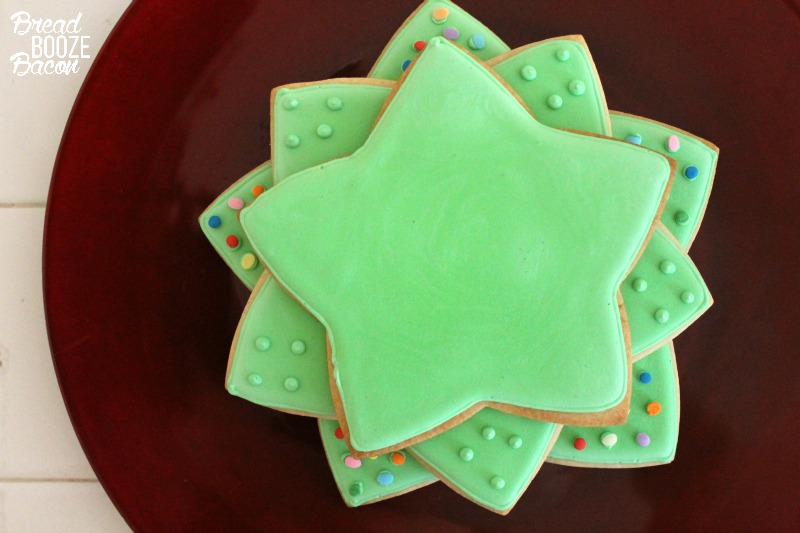 This easy to make Christmas Cookie Tree will delight your holiday guests and look stunning on your Christmas buffet!