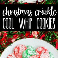 Christmas Crinkle Cool Whip Cookies are a blast to make with the kids! Everyone loves these easy Christmas cookies, just be ready to get a little messy!