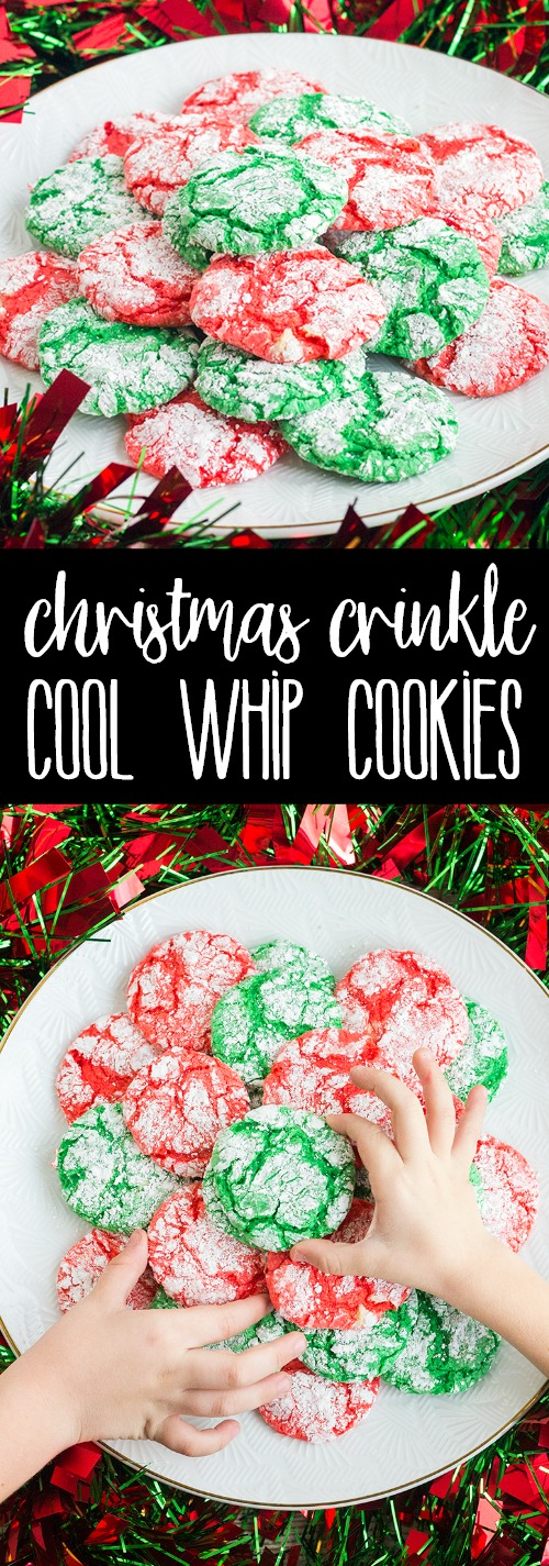 Christmas Crinkle Cool Whip Cookies Pin14 Bread Booze Bacon