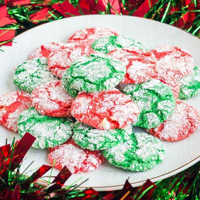 Christmas Crinkle Cool Whip Cookiesare a blast to make with the kids! Everyone loves these easy Christmas cookies, just be ready to get a little messy!
