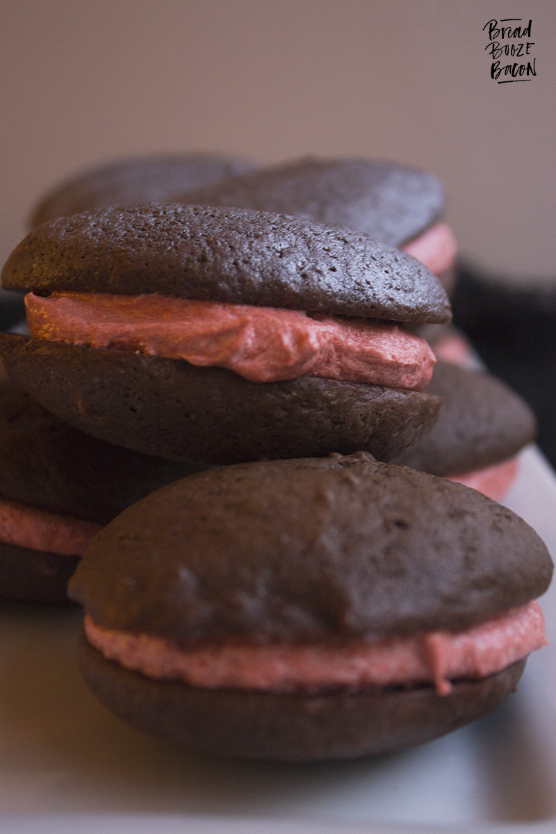 Our decadent Death Star Whoopie Pies will make you want to come over to the Dark Side!