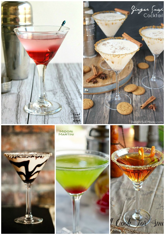Every party needs a great cocktail to wow the crowd. These 25 Made to Order Martinis are completely delicious and sure to make all your guests feel like the cat's meow!