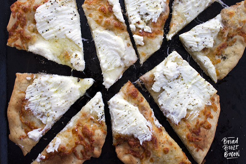 Our Pizza Bianca recipe will be the hit of any party. Simple flavors make this pizza a cheese lover's dream!