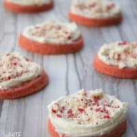 White Chocolate Peppermint Cookies are the perfect balance of refreshing mint and creamy frosting!