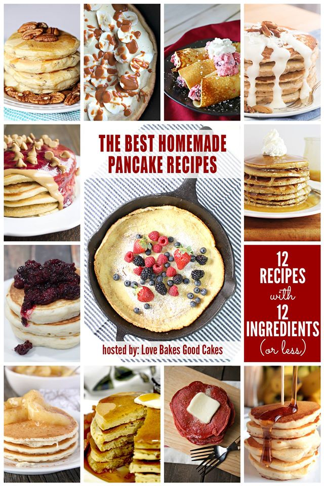 12 Bloggers 2016 Pancakes