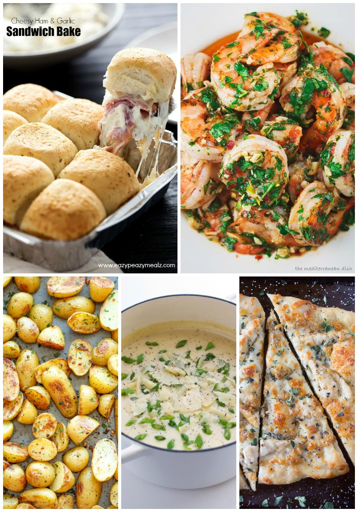 I love garlic and I want the whole world to know it! There's nothing quite like the flavor of a dish that's been cooking in garlic and is permeated with the taste or is studded with roasted garlic for a sweet burst of flavor. These 25 Garlic Recipes are heaven and I want to eat every.single.one...right now!