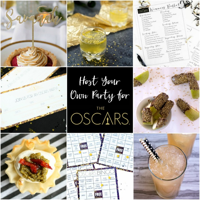 10+ Ideas to Host Your Own Party for The Oscars | Bread Booze Bacon